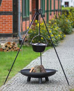 Kociołki + paleniska ogrodowe